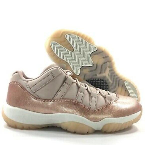timeless design 78481 fef0d Women size 5.5 Jordan Retro 11 Low Rose Gold